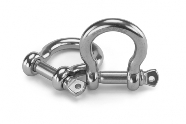 Shackle, stainless steel, 12mm