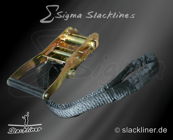 Sigma Slackline Set ( 25 mm ), 25m lang